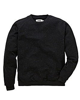 Neppy Crew Neck Black Sweatshirt L