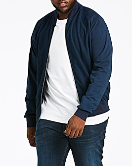 Baseball Textured Navy Sweatshirt Regular