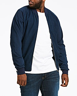 Baseball Textured Navy Sweatshirt Long