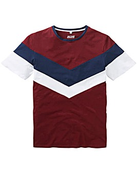 Chevron Oxblood T-Shirt L