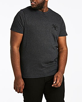 NYC Embroidered Logo T-shirt Long