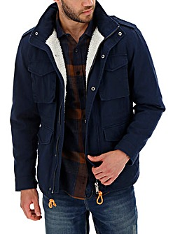 Navy Casual Four Pocket Jacket