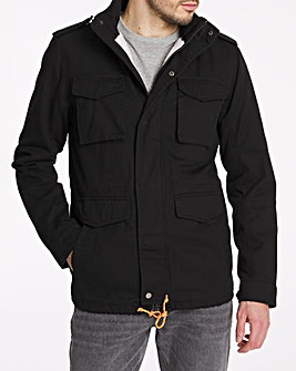 Casual Four Pocket Jacket Long