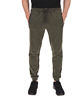 Khaki Tech Fleece Jogging Bottoms