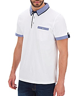Trim Detail White Polo L