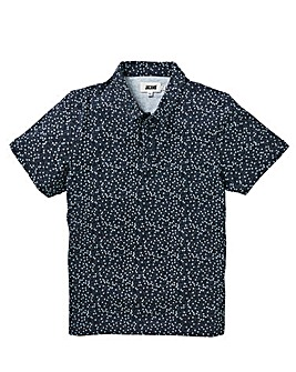 Floral Ditsy Print Polo Long