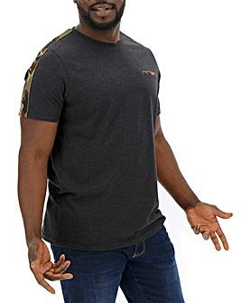 Camo Tape Detail T-Shirt Long