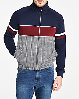Jacamo Check Co-ord Track Top