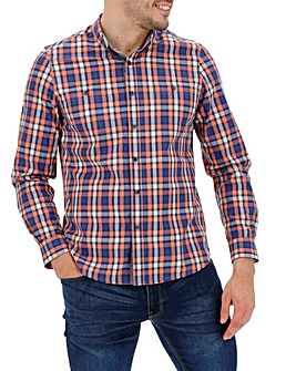 Multi Coloured Check Long Sleeve Shirt