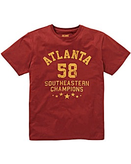 Atlanta Graphic T-Shirt Long