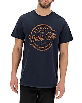 Detroit Graphic T-Shirt Long