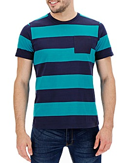 Blue Stripe T-shirt Long