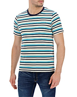 Yellow Stripe T-shirt Long