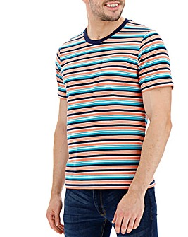 Multi Coloured Stripe T-shirt Long