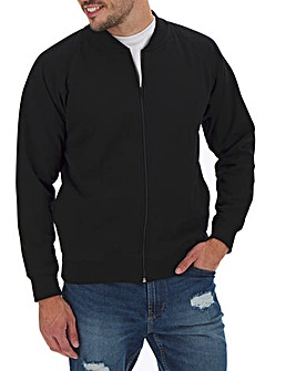 Jersey Bomber with Baseball Collar