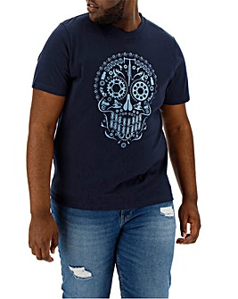 Cog Skull Graphic T-Shirt
