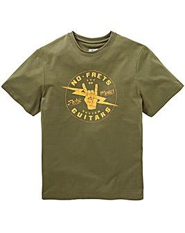No Frets Graphic T-Shirt