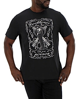 Rockhouse Poison Graphic T-Shirt Long