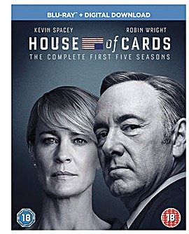 House Of Cards Season 1 to 5  Bluray