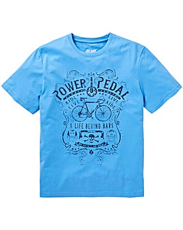 Power Pedal Graphic T-Shirt Long