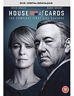 House Of Cards Season 1 to 5 DVD