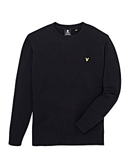 Lyle & Scott Mighty Cotton Merino Crew Neck Jumper