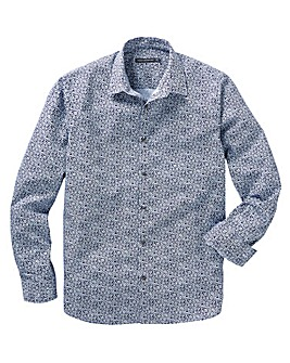 French Connection Formal Print Shirt