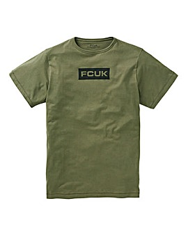 French Connection FCUK Box Logo T Shirt