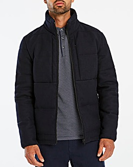 Jasper Conran Ledge Quilt Wool Jacket