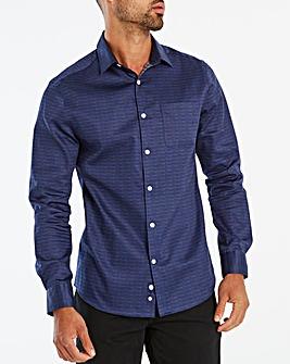 Jasper Conran Shard Sateen Print Shirt