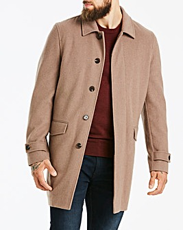 Jasper Conran Zip Out Wool Coat