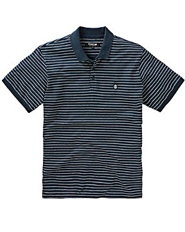 Firetrap Blackseal Gnome Stripe Polo L