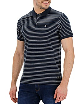 Firetrap Blackseal Gnome Stripe Polo