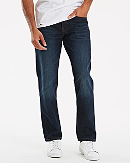Mantaray Broken Wash Straight Fit Jean