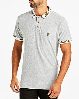 Fenchurch Camo Collar Polo