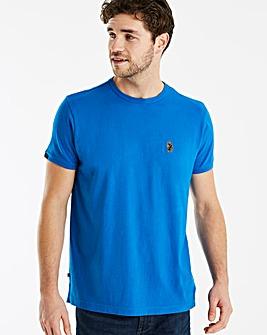 Luke Sport Imperiall Blue Traff Core Crew T-Shirt Regular