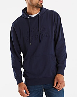 Luke Sport Dark Navy Owens 3D Letters Hoody Regular