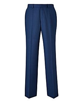 Burton London Blue Grid Trousers 32 In