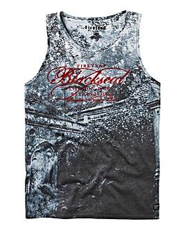 Firetrap Blackseal Old Night Vest Long