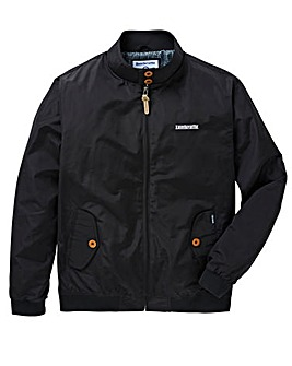 Lambretta Black Harrington Jacket Reg