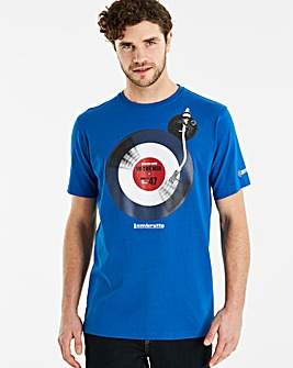 Lambretta Vinyl T-Shirt