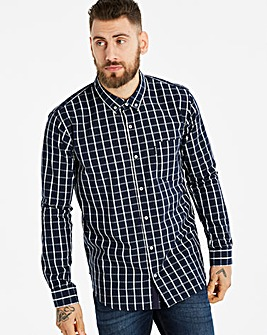 Lambretta Box Windowpane Check Shirt Regular