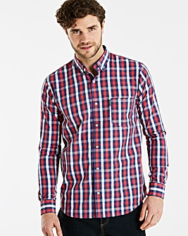 Lambretta Sero Multi Check Shirt Long