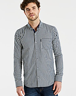 Lambretta Jest Gingham Check Shirt Regular