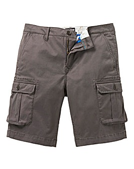 Timberland Charcoal Webster Lake Stretch Cargo Shorts