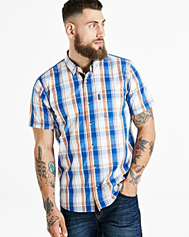 Lambretta James Check Shirt Reg