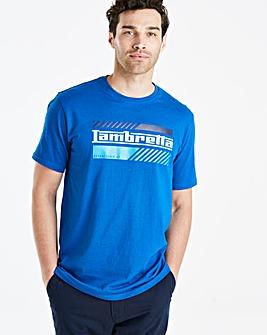 Lambretta Italian Logo T-Shirt Long