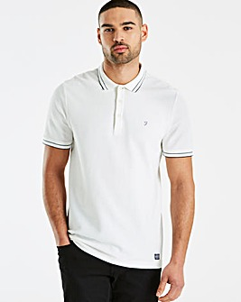 Farah Honeycomb Tipped Polo