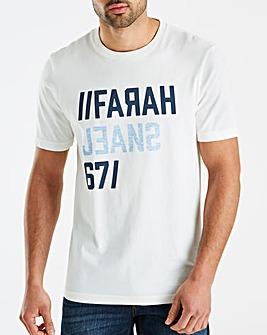 Farah 671 Logo Print T-Shirt