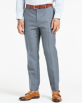 Farah Dark Grey Anti Stain Twill Trousers 31in Leg